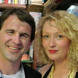 CE Smitn and Rosa Rankin Gee, winners, Paris Literary Prize Award